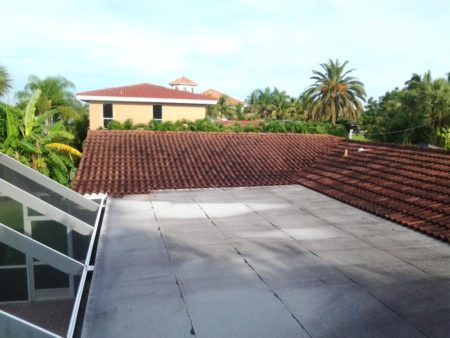 House 2 before roof flat, Naples Roof Cleaning, Fort Myers Roof Cleaners, Bonita Springs Roof Cleaner, Cape Coral Roof Cleaning, Roof Cleaning Company, Roof Cleaning Services, Pressure Washing Companies, Pressure Cleaning Companies, Pressure Washing Services, Pressure Cleaning Company, Paver Cleaning and Sealing, Roof Sealing