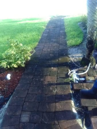Paver walkway, Fort Myers Pressure Washing, Naples Pressure Cleaning, Bonita Springs Pressure Cleaners, Cape Coral Pressure Cleaners, Fort Myers Paver Cleaning and Sealing, Naples Paver Cleaning and Sealing