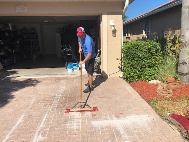 Sanding pavers, Fort Myers Pressure Washing, Naples Pressure Cleaning, Bonita Springs Pressure Cleaners, Cape Coral Pressure Cleaners, Fort Myers Paver Cleaning and Sealing, Naples Paver Cleaning and Sealing,